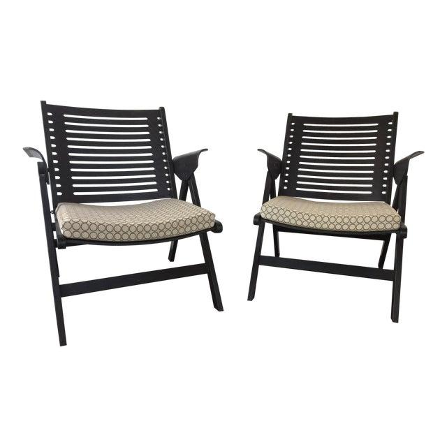 Amazing Dwr Niko Kralj Rex Folding Chairs A Pair Machost Co Dining Chair Design Ideas Machostcouk