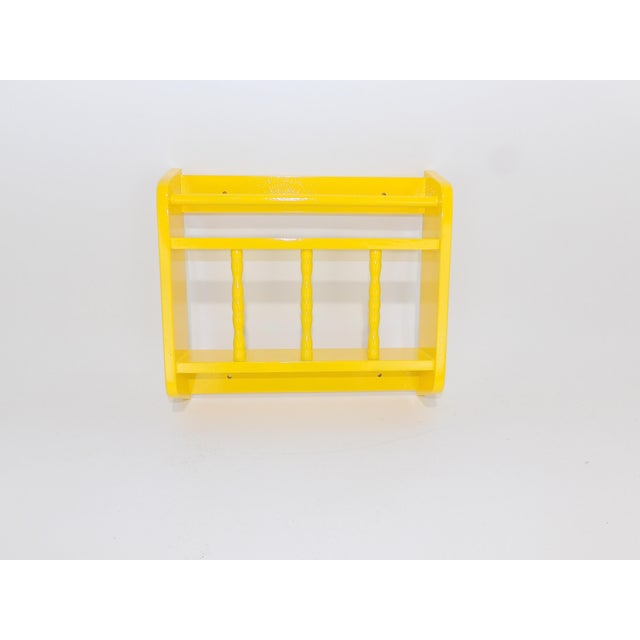 Electric Yellow Magazine Rack For Sale In Sacramento - Image 6 of 6