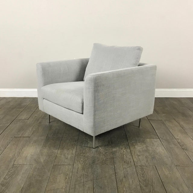 Clean Lined Modern Armchair - Image 2 of 11