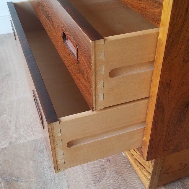 1960s Poul Hundevad Rosewood Four Drawer Dresser For Sale - Image 11 of 13