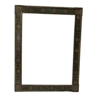 Black & Gold Polychrome Picture Frame