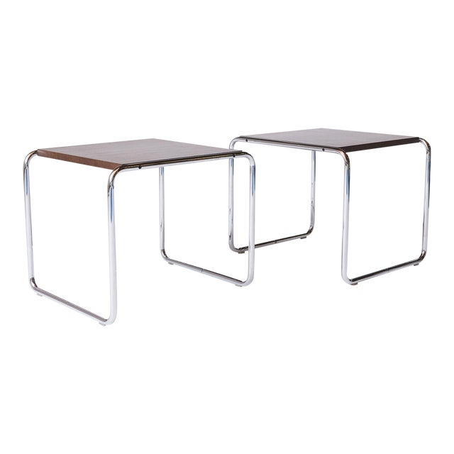 Laccio Tables by Marcel Breuer - A Pair For Sale