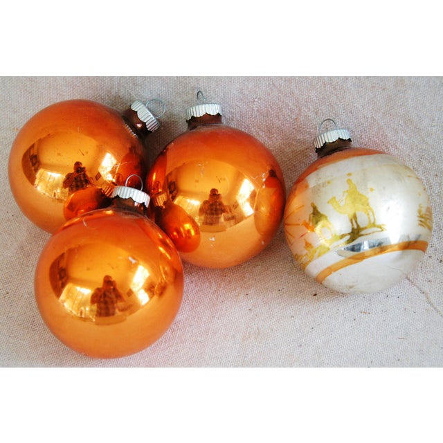 1950s Christmas Ornaments With Box - Set of 9 - Image 7 of 8