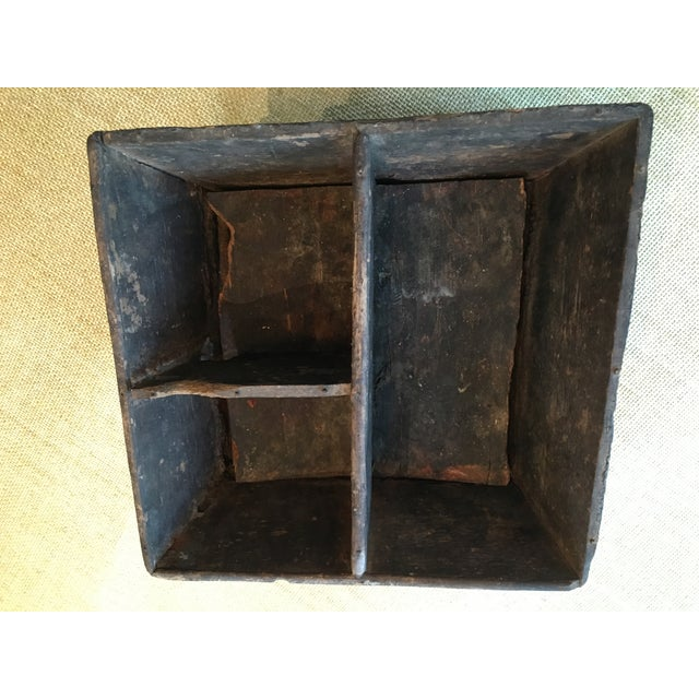 Early 20th Century Traditional Decorated Wood Box For Sale - Image 10 of 11