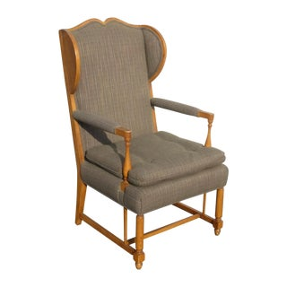 Vintage Monterey Style Wingback Arm Chair