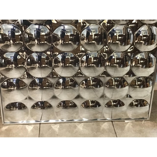 1970s Mid Century Modern Bubble Convex Mirror For Sale - Image 5 of 7