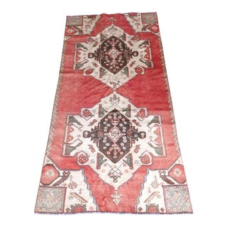 "Antique Turkish Rug - 4'4"" x 8'8"" For Sale"