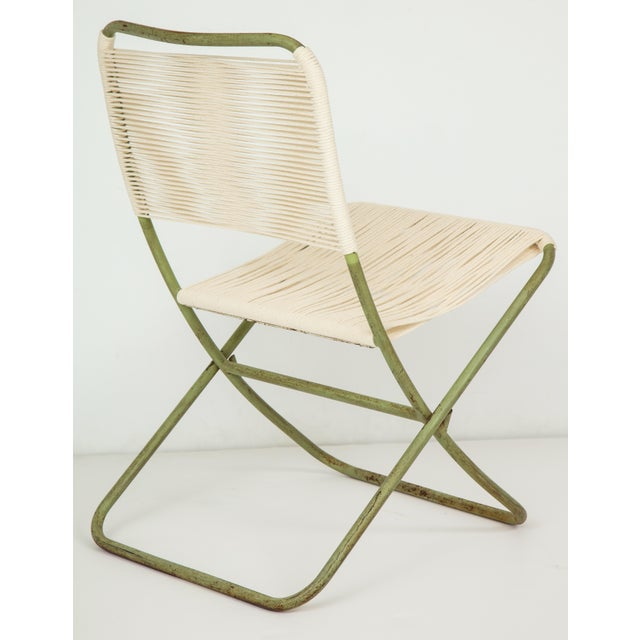 1950s Greta Grossman Folding Chairs - a Pair For Sale In New York - Image 6 of 13