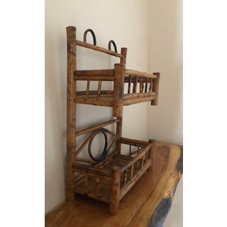 Vintage Boho Chic Bamboo Shelf Preview