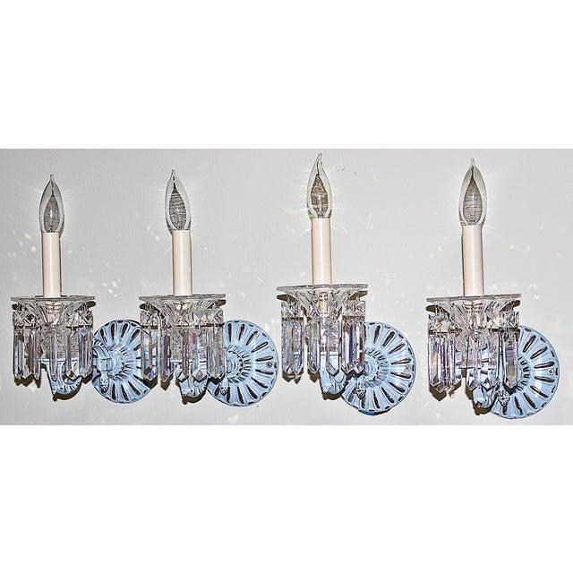 Hollywood Regency Regency-Style Painted Sconces - Set of 4 For Sale - Image 3 of 9