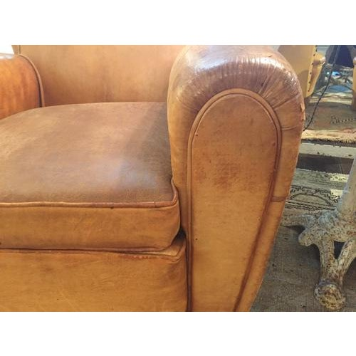 Mid Century Modern Italian Club Chair, C.1940, Sold as a Pair For Sale - Image 9 of 10