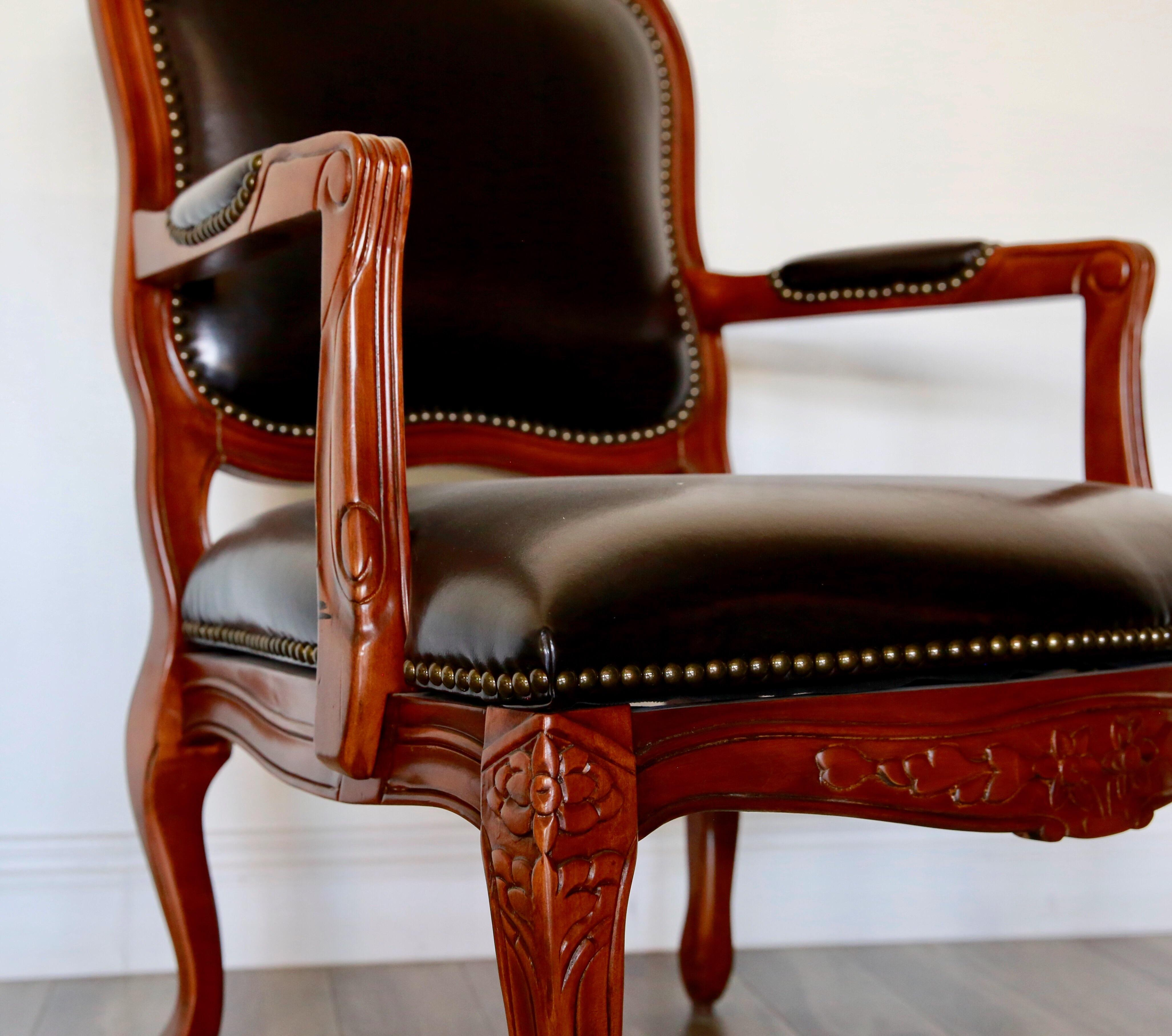 cigar chairs leather leather cigar chair chairish 2204