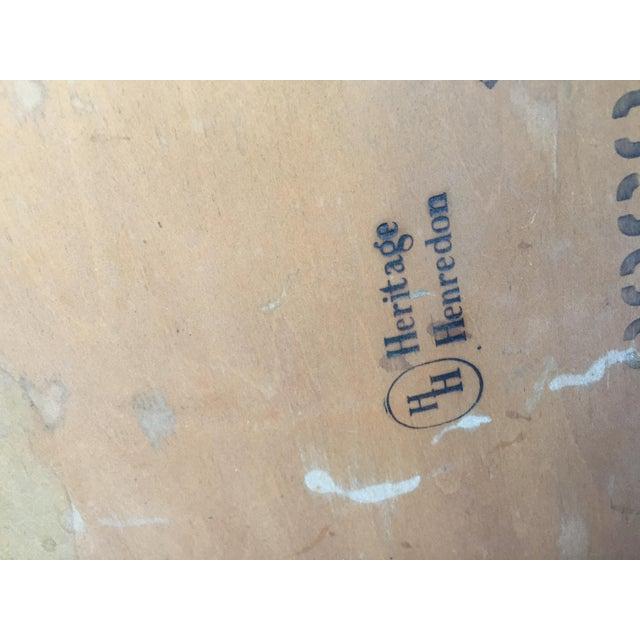 Heritage Henredon Mahogany Coffee Table For Sale - Image 10 of 12