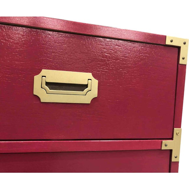 Bernhardt 1960s Campaign Chest by Bernhardt For Sale - Image 4 of 8