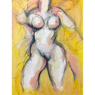 Woman in Yellow I For Sale