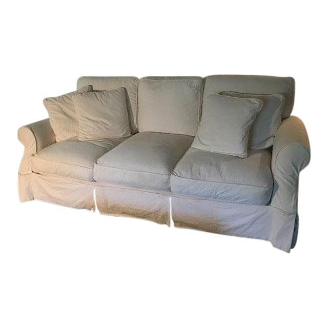 Pottery Barn Slipcover Sofa