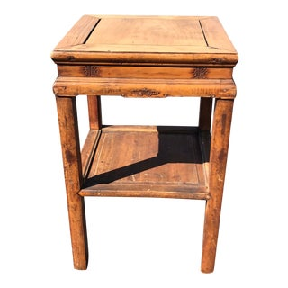 20th Century Chinese Planter Stand/Side Table For Sale