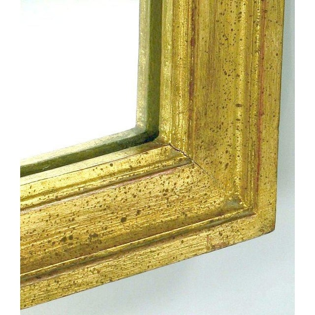 1950s Large Italian Empire Gilt Mirror For Sale - Image 5 of 7