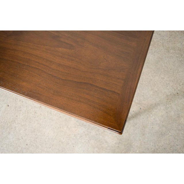 Brown Mid Century Lane Walnut Coffee Table For Sale - Image 8 of 10