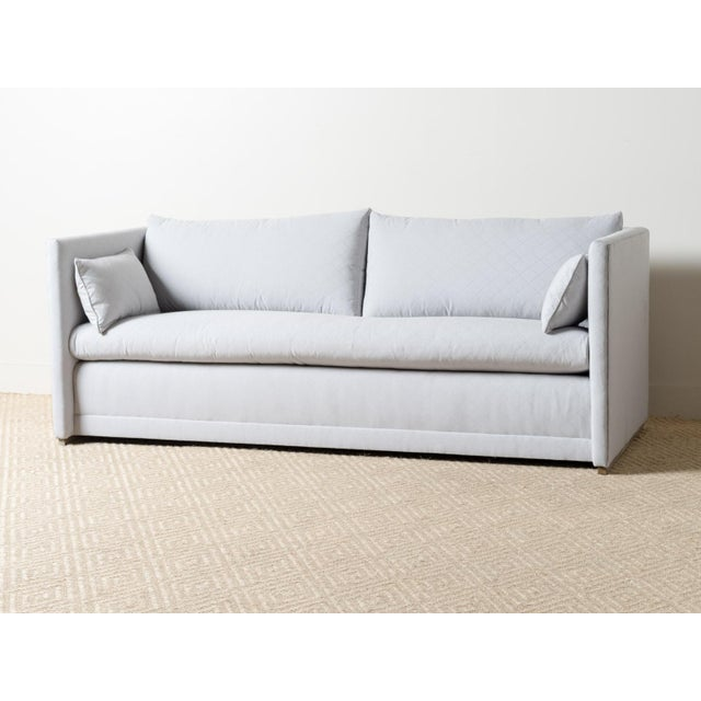 Textile EJ Victor Modern Upholstered Sunday Sofa For Sale - Image 7 of 7