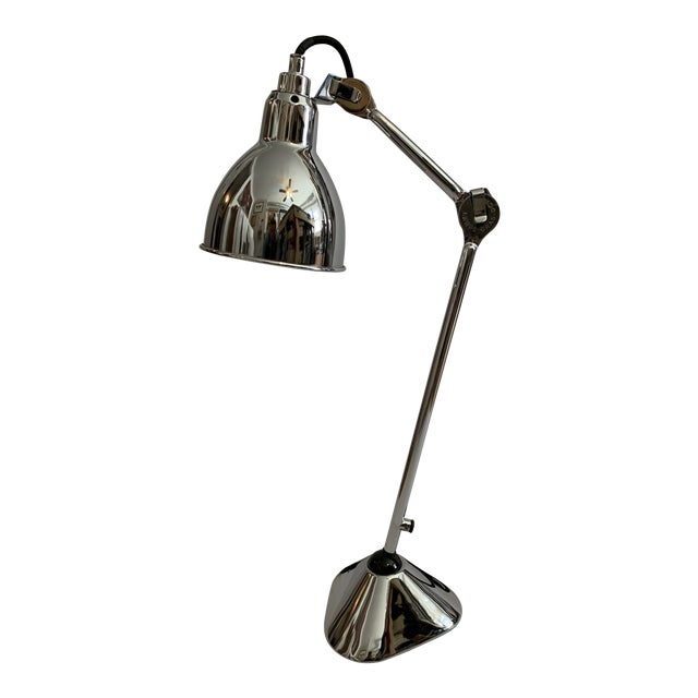 Lampe Gras 205 Table Lamp Chrome by DCW Editions Paris For Sale