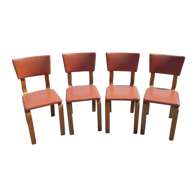 Thonet Bentwood Chairs - 4 For Sale