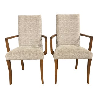 Modern Bermex Dining Armchairs- A Pair For Sale