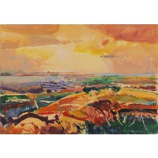 John Maxon Monterey Landscape Circa 1985 For Sale