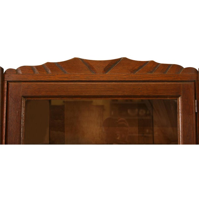 1920 French Art Deco Carved Grapes Buffet - Image 6 of 8