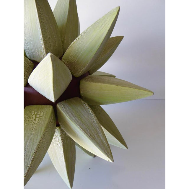 """A """"Stellar"""" Stoneware Sculpture by Contemporary American Artist Titia Estes For Sale In Palm Springs - Image 6 of 11"""
