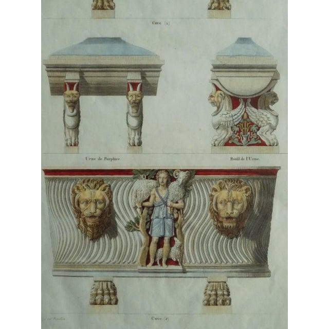 Mid 18th Century Antique Bouillion Italian Vases Print For Sale - Image 9 of 10
