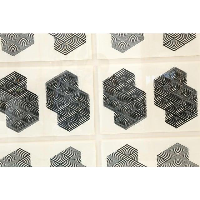 Black Original Letterpress Prints For Sale - Image 8 of 12