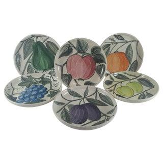 Waechtersbach German Fruit Plates - Set of 6