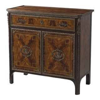 Louis XVI Ormolu Mounted and Inlaid Cabinet For Sale