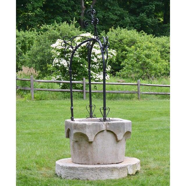 Metal Medieval Venetian Wellhead For Sale - Image 7 of 12
