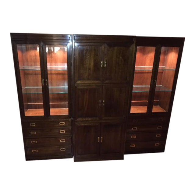 Ethan Allen Canova Collection Wall Unit - Image 1 of 9