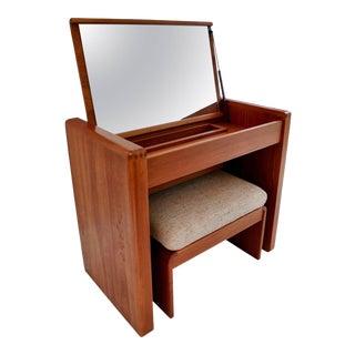 Mid-Century Vanity or Dresser From Denmark For Sale
