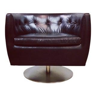 Mid Century Modern Milo Baughman Barrel Chair For Sale