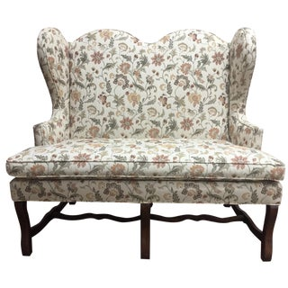 Pearson Floral Settee For Sale