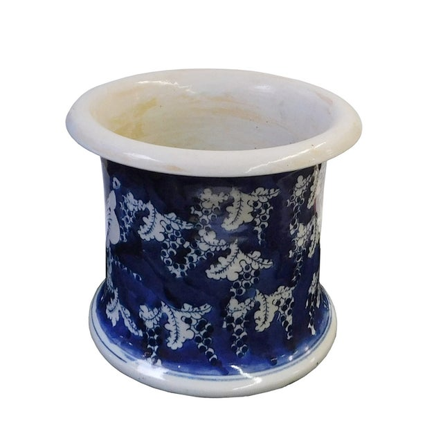 Chinese Blue & White Porcelain Butterfly Bowl - Image 2 of 6