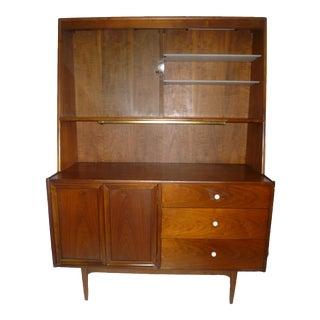 1950s Mid Century Modern Kipp Stewart for Declaration by Drexel China Cabinet For Sale
