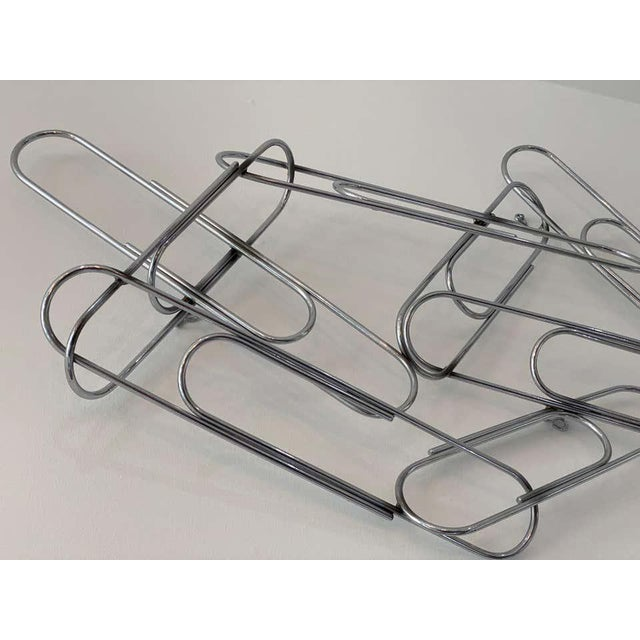 Artisan House Wall Sculpture of Paper Clips by Curtis Jere For Sale - Image 4 of 11