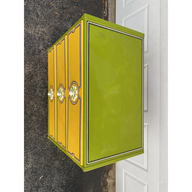 Mid 20th Century Drexel Peter Max Inspired Small Dresser For Sale - Image 10 of 12
