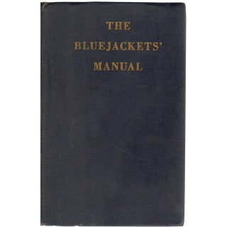 "1959 ""The Bluejackets' Manual"" Collectible Book For Sale"