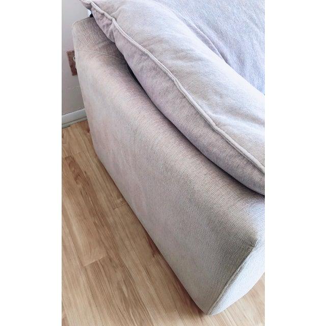 Textile N. Eilersen Danish Modern Down Sofa For Sale - Image 7 of 13