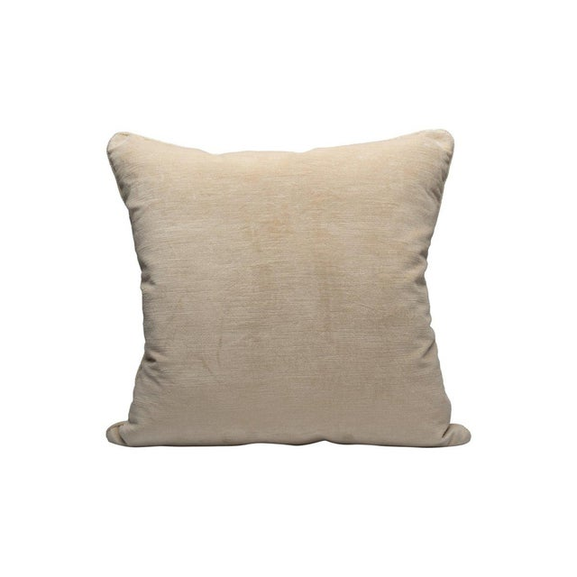 Traditional Persia Pillow, Natural For Sale - Image 3 of 3