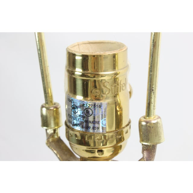 Stiffel Brass Candlestick Table Lamp - Image 7 of 7