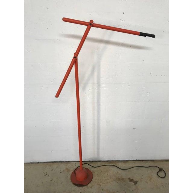 "Late 20th Century Postmodern Mario Arnaboldi ""Mira"" Floor Lamp for Programmaluce For Sale - Image 5 of 9"