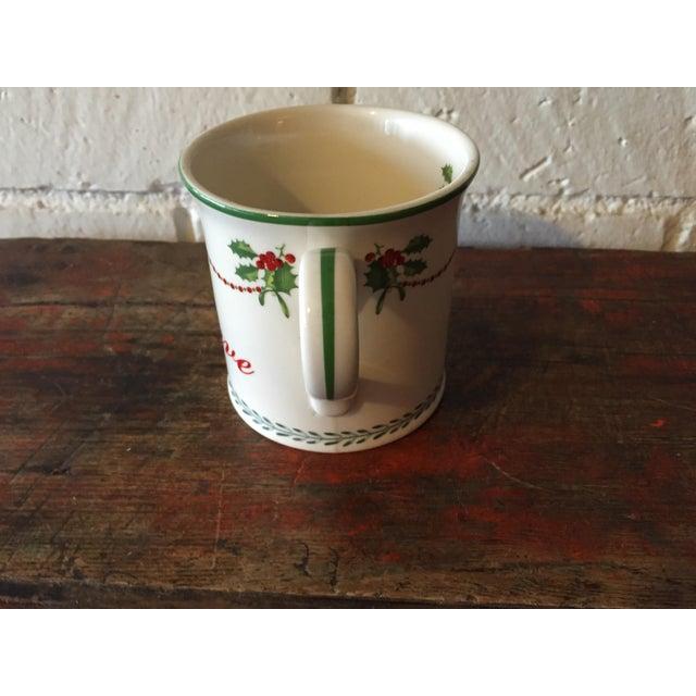 "Spode ""Believe"" Christmas Tree Mug - Image 4 of 6"
