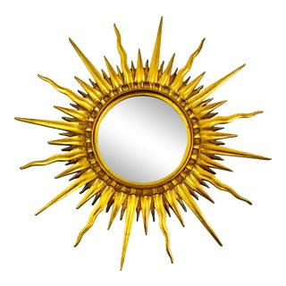 Mario Buatta Sunburst Mirror For Sale